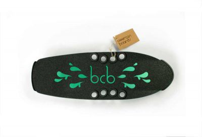Beercan Boards Cruiser Microbrewster Deck green - Aluminium Skateboard Deck