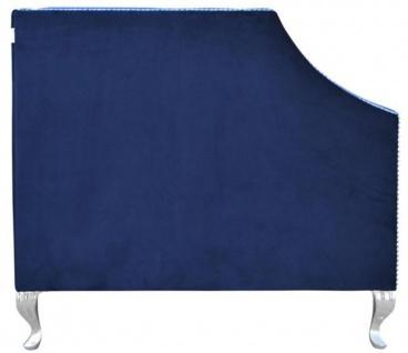 Casa Padrino Luxus Chesterfield Samt Sofa mit Kissen 172 x 84 x H. 76, 5 cm - Verschiedene Farben - Chesterfield Wohnzimmer Möbel - Vorschau 3