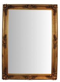 Casa Padrino Barock Wandspiegel Gold Höhe 213 cm, Breite 152 cm - Edel & Prunkvoll