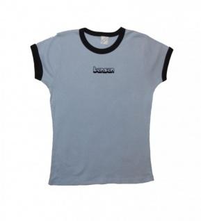 Bensen Clothing Skateboard Damen T-Shirt Blue