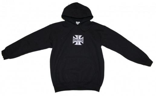 Independent Skateboard Pullover Hooded Black Sweater