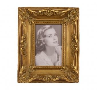 Casa Padrino Barock Bilderrahmen Gold Antik Stil 25, 9 x 20, 8 cm - Bilder Rahmen Foto Rahmen Jugendstil Antik Stil