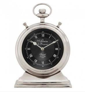 Casa Padrino Designer Luxus Uhr Main De Brignac DEPUIS 1927 PARIS ø 13 x H. 20 cm - Edel & Prunkvoll