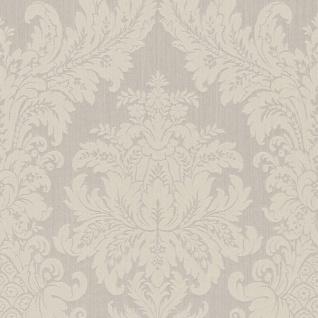 Casa Padrino Barock Textiltapete Beige 10, 05 x 0, 53 m - Luxus Wohnzimmer Tapete