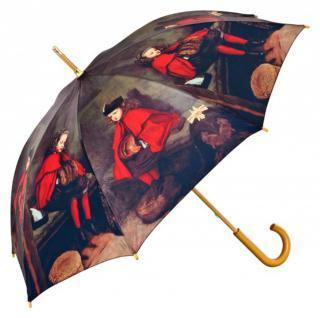MySchirm Designer Regenschirm mit einem Motiv des Malers John Everett Millais - Eleganter Stockschirm - Luxus Design