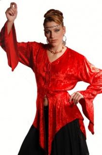 Hetha Piraten Mittelalter Bluse - Red