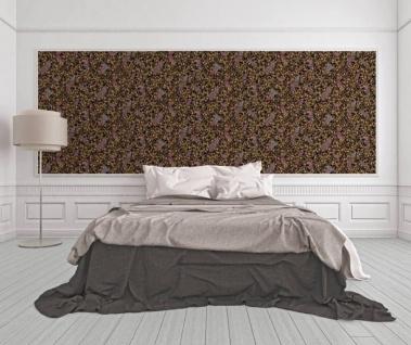 Versace Designer Barock Vliestapete IV 37053-1 - Schwarz / Gold / Blau / Violett - Design Tapete - Hochwertige Qualität - Vorschau 2