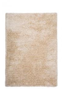 Casa Padrino Designer Teppich Unicolor Tufted Soft Polyester Creme - Möbel Teppich