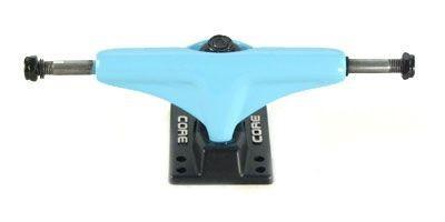 Core Skateboard Achsen Set 5.0 neon blau/schwarz (2 Achsen)