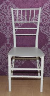Casa Padrino Polycarbonat Designer Stuhl - Ghost Chair Weiß - Acyrl Möbel - Geisterstuhl - Ghost Stuhl *** Angebot***
