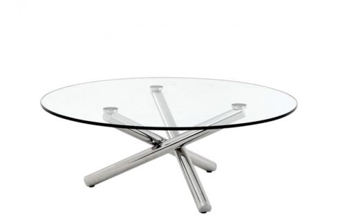 Casa Padrino Luxus Art Deco Designer Couchtisch 105 x H. 38 cm - Wohnzimmer Salon Tisch - Designer Tisch Möbel