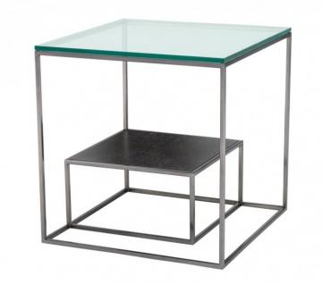 Casa Padrino Luxus Art Deco Designer Beistelltisch 55 x 55 x H. 57 cm - Luxus Tisch