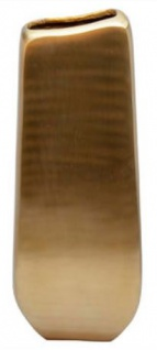 Casa Padrino Designer Vase Gold 25 x 12 x H. 66 cm - Designer Deko