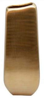 Casa Padrino Designer Vase Gold 25 x 12 x H. 66 cm - Designer Deko - Vorschau 1