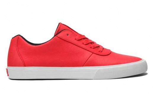 SUPRA Skateboard Schuhe Cuttler Low- Chili Red