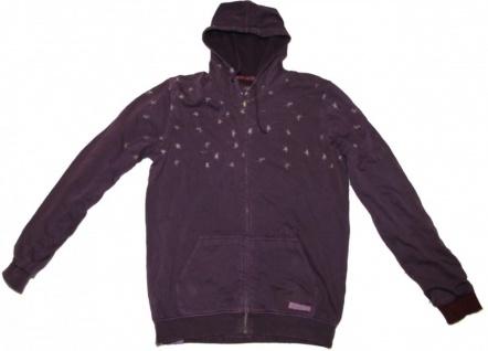 Altamont Skateboard Pullover Zip Hooded Hendrix Purple Sweater