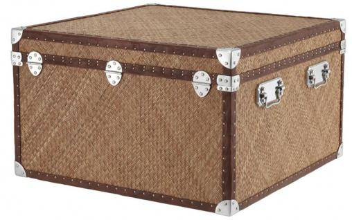 Casa Padrino Luxus Couchtisch im vintage Koffer Design 85 x 85 x H. 51 cm - Designer Möbel - Vorschau 4