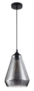 Casa Padrino Luxus Pendelleuchte / Hängeleuchte mit Regen Effekt Ø 21 x H. 26, 2 cm - Leuchten & Lüster
