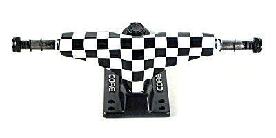 Core Skateboard Achsen Set 5.0 checkered/schwarz (2 Achsen)