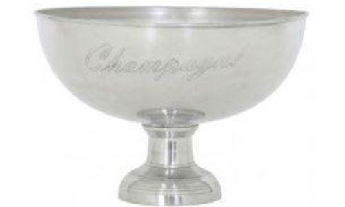 Casa Padrino Champagnerkühler Durchmesser 40 x H. 28 cm - Aluminium Champagnerkühler