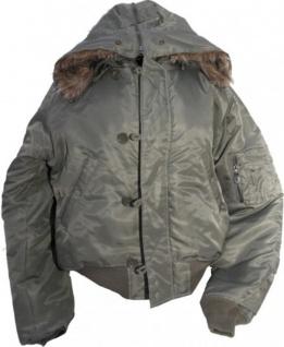 N2B Parka Jacke Olive - Flying Jacket - Fliegerjacke