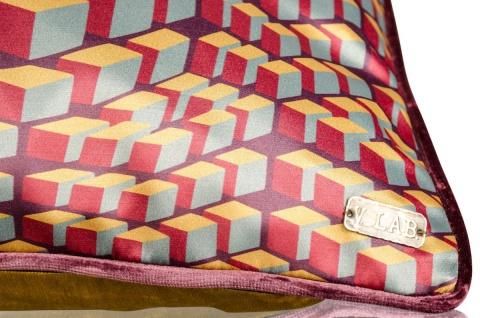 Casa Padrino Wohnzimmer Deko Kissen 2er Set Mehrfarbig 50 X 50 Cm   Luxus  Kollektion