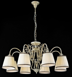 Casa Padrino Barock Decken Kristall Kronleuchter Weiß Gold 81 x H 43 cm Antik Stil - Möbel Lüster Leuchter Hängeleuchte Hängelampe