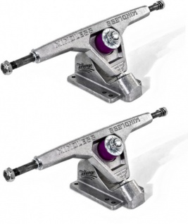 Mindless Voodoo Talisman Longboard Achsen Set 177mm Silver (2 Achsen) - Long Board Skateboard Truck Set - Trucks