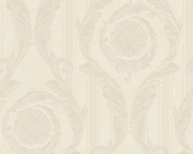 Versace Designer Barock Tapete Home Collection 935682 Jugendstil Vliestapete Vlies Tapete Creme