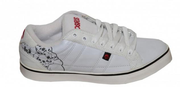 Osiris Skateboard Schuhe Diablo White/ Black Sneakers Shoes