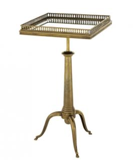 Casa Padrino Luxus Art Deco Designer Messing Beistelltisch - Hotel Tisch Möbel