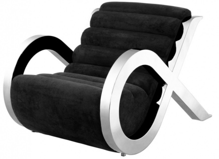 Casa Padrino Luxus Hotel Salon Sessel - Designer Möbel