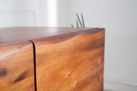 Casa Padrino Luxus Sideboard Braun B.170 x H.90 x T.45 - Fernsehschrank - Kommode - Handgefertigt aus massivem Akazienholz! - Vorschau 2