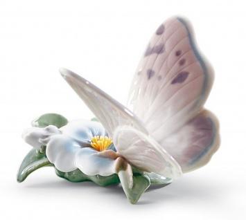 Casa Padrino Luxus Porzellan Schmetterling Skulptur Mehrfarbig 11 x H. 8 cm - Luxus Qualität