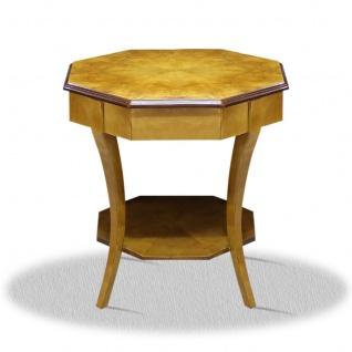 Casa Padrino Art Deco Beistelltisch 60 x 60 x H. 75 cm - Antik Stil Tisch Möbel