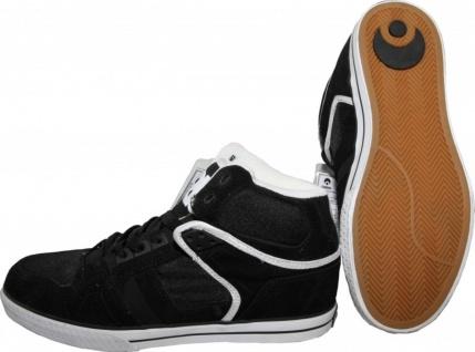 Osiris Skateboard Schuhe Bronx Vulc Black/White Sneaker Shoes