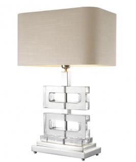 Casa Padrino Luxus Tischleuchte 45 x H. 70 cm - Designer Tischleuchte