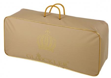 Harald Glööckler Designer Kopfkissen 80 x 80 cm Weiß / Gold + Casa Padrino Luxus Barock Bleistift mit Kronendesign - Vorschau 4