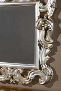Casa Padrino Luxus Barock Wandspiegel Silber 86 x 8 x H. 114 cm - Prunkvoller Antik Stil Spiegel mit wunderschönen Verzierungen - Luxus Qualität - Made in Italy - Vorschau 2