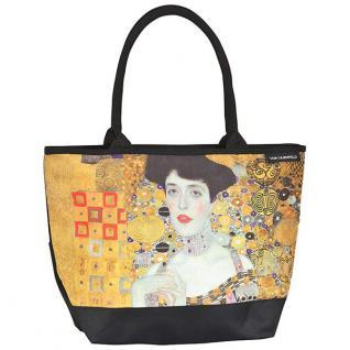 """Designer Shoppertasche Gustav Klimt: """" Adele"""" - Elegante Tasche - Luxus Design"""