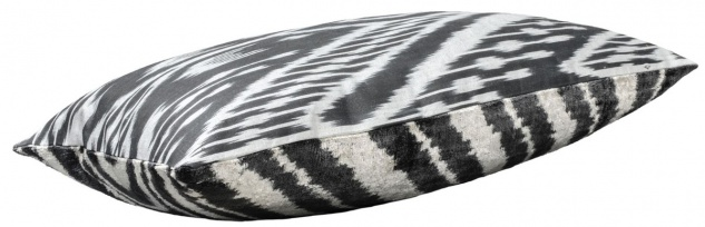 Casa Padrino Luxus Kissen Schwarz / Weiß 60 x 40 cm - Wohnzimmer Deko Accessoires - Vorschau 2
