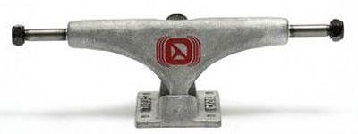 Crail Skateboard Achsen Set 133 LOW raw silber
