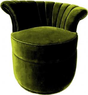 Casa Padrino Luxus Art Deco Sessel Right - Verschiedene Farben - Wohnzimmer Sessel - Art Deco Wohnzimmer Möbel