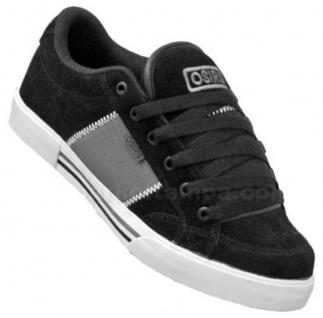 Osiris Skateboard Schuhe Q-379 Black/Charcoal