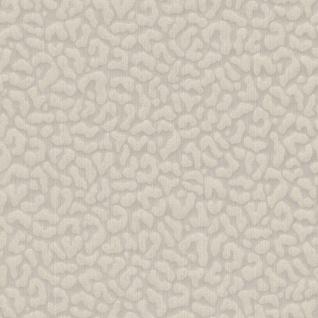 Casa Padrino Barock Textiltapete Beige / Grau 10, 05 x 0, 53 m - Wohnzimmer Tapete - Deko Accessoires