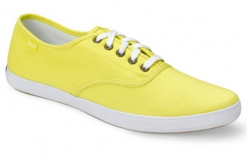 Keds Sneaker Schuhe Champion CVO Waxed Sunshine