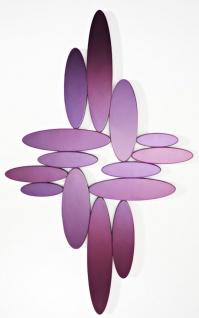Casa Padrino Designer Wohnzimmer Spiegel Violett 99 x H. 160 cm - Luxus Wandspiegel