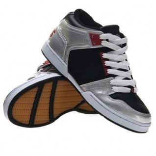 Osiris Skateboard Schuhe South Bronx Kids Silver Black Red Red Black Beliebte Schuhe 3b350c
