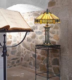 Tiffany Hockerleuchte Höhe 59 cm, Durchmesser 40 cm, Leuchte Lampe