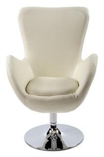 Casa Padrino Designer Sessel Creme - Lounge Sessel - Büro Sessel